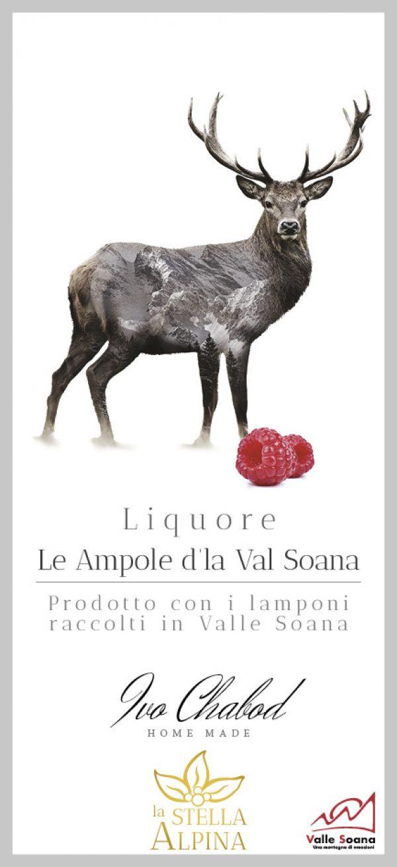 Le Ampole d'la Val Soana liquore ai lamponi della Valle Soana