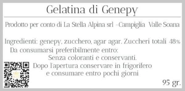 Gelatina al Genepy 95gr