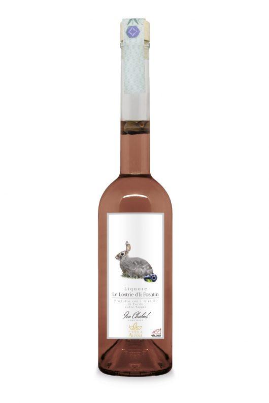 Le Lostrie d'li Fosatin liquore ai mirtilli della Valle Soana