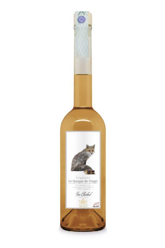 Le Quegne de l'Engri liquore alle Castagne della Valle Soana